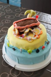 gâteau île au trésor