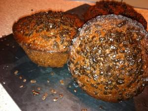 muffin chocolat pépitte