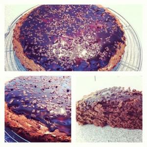 gâteau tout chocolat
