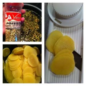 préparation saumonette