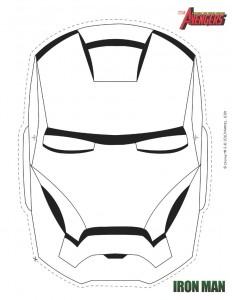 masque iron man