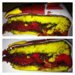 gâteau marvel
