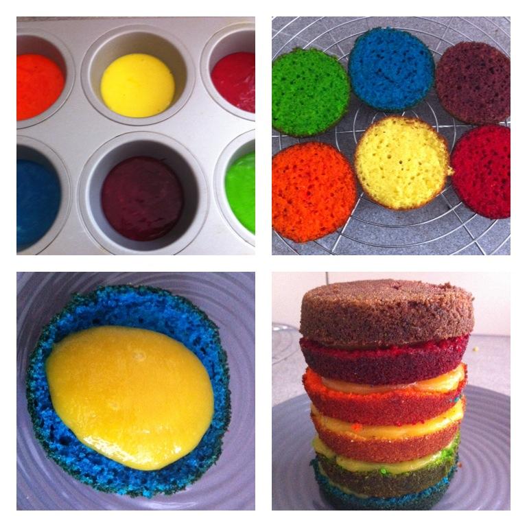 Cake Design Multicolor Recette