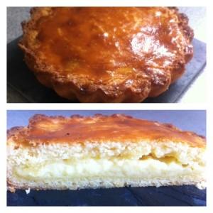 gâteau basque maison