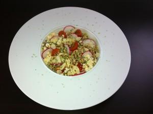 salade de quinoa boulgour