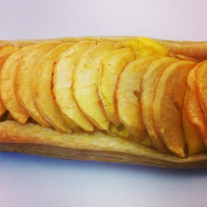 feuilleté aux pommes