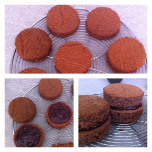 recette gâteau chocolat framboise