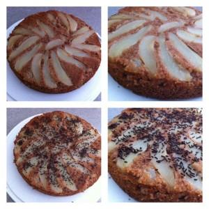 recette gâteau poire chocolat