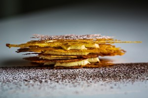millefeuille vanille by yann couvreur