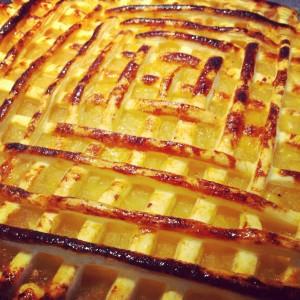 grillé aux pommes