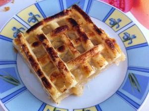 recette grillé aux pommes normand