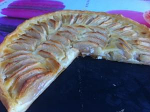 tarte aux pommes alsace