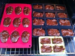 recette madeleine chocolat