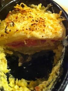 mini cocotte jambon champignon
