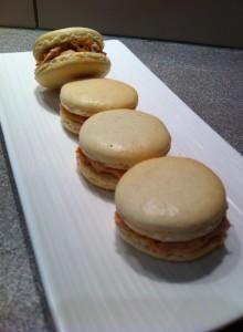 macaron foie gras pain d'épice