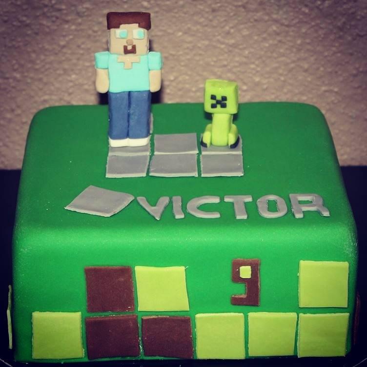 Decor Pour Gateau Minecraft