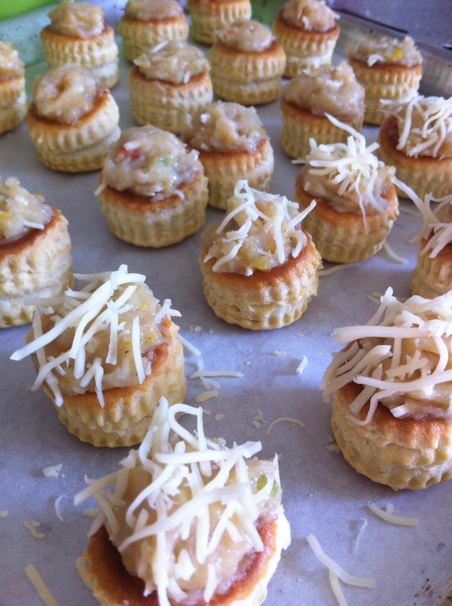 Mini Bouchee Poulet Chut Je Cuisine