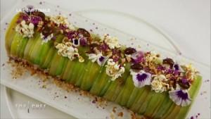 buche foie gras figue d'olivier top chef