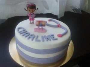 cake design docteur la peluche