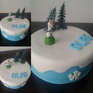 cake design olaf