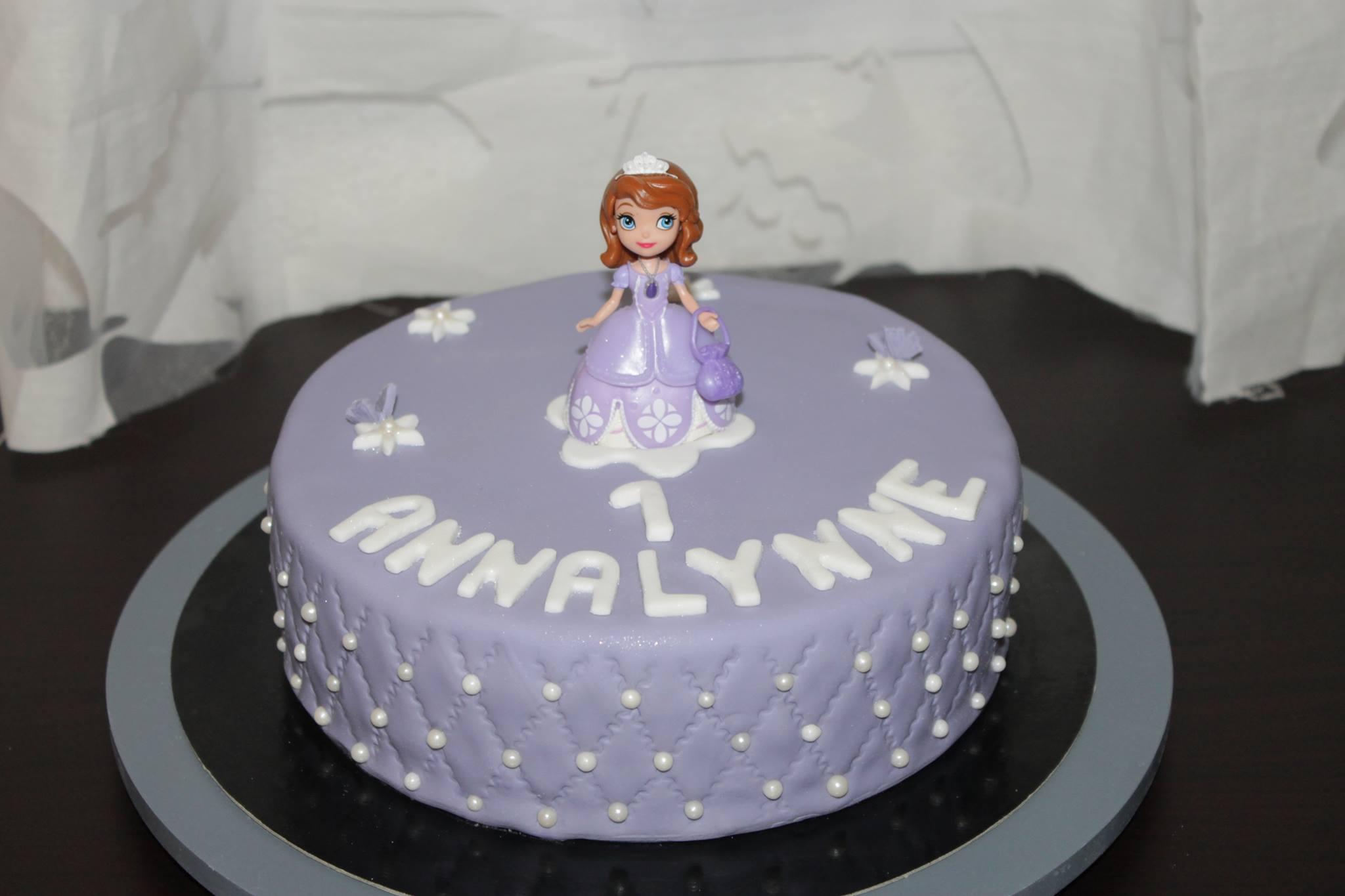 Cake Design Princesse Sofia Chut Je Cuisine