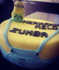 cake design zumba hermann melo