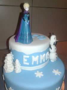 gateau frozen