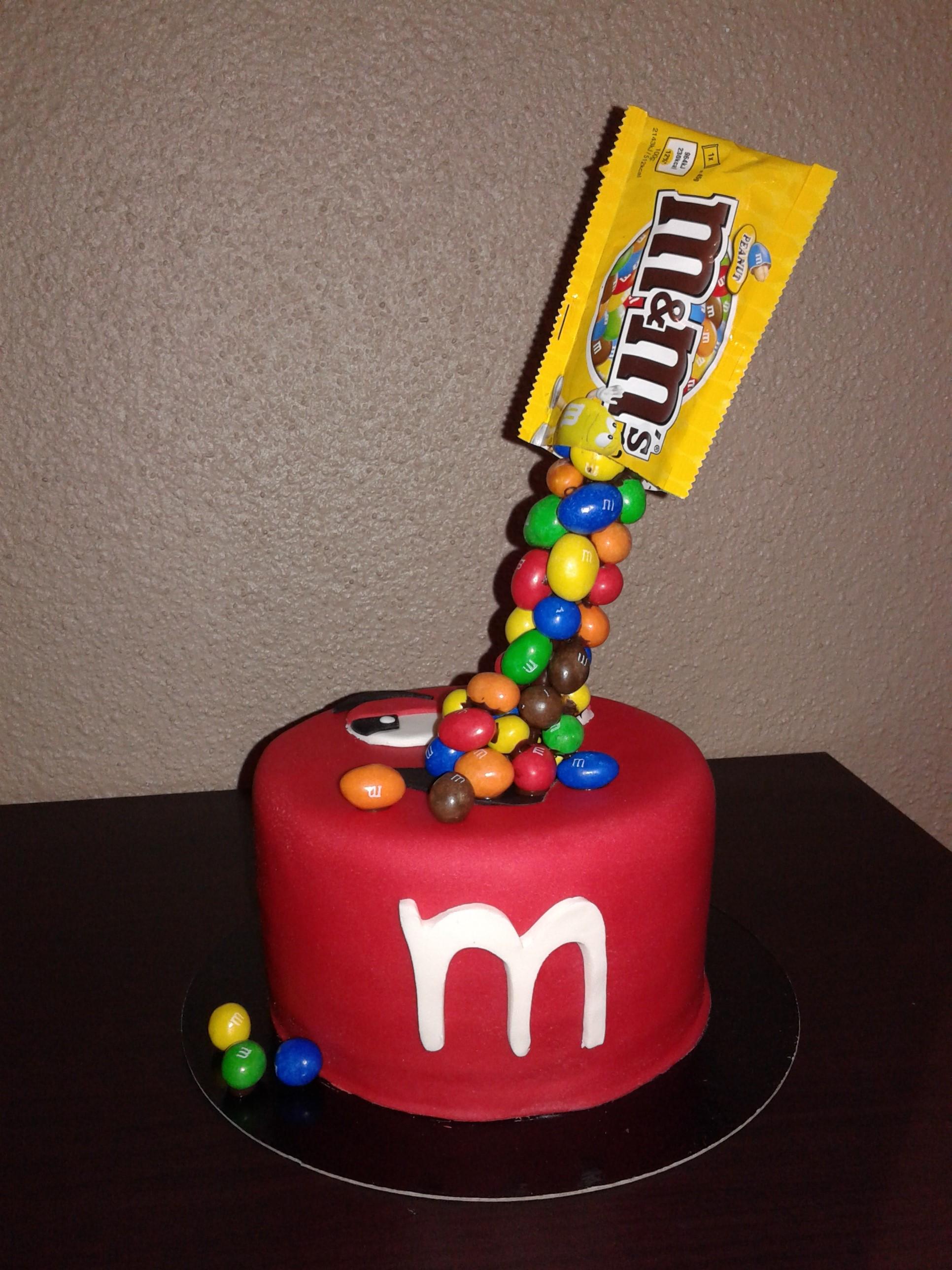 Gravity Cake M Amp M S Version 2 Chut Je Cuisine