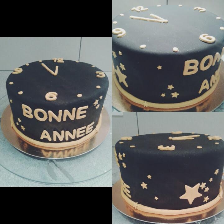 Cake Happy New Year Chut Je Cuisine