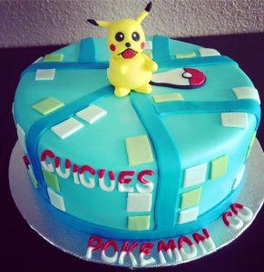 cake design pokemon go
