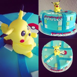 gateau pokemon go