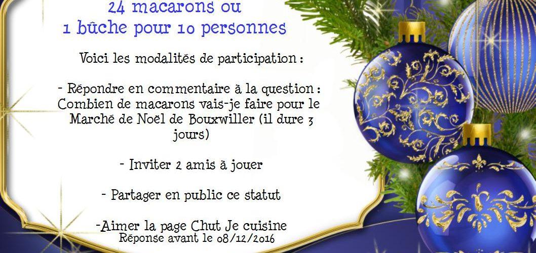 Jeux Concours Facebook Noël Chut Je Cuisine - Jeux de cuisine de noel